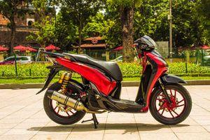 Honda SH 150i độ gần 100 triệu của dân chơi Hà Thành