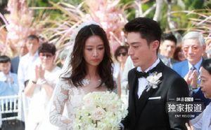 Lâm Tâm Như thổn thức trong đám cưới
