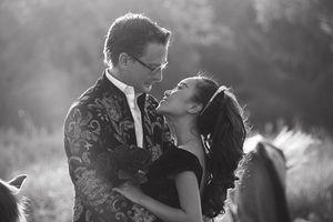 Ảnh cưới chưa từng công bố của Đoan Trang và chồng Tây