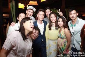 Lâm Tâm Như rạng rỡ trong tiệc cưới bất chấp tin 'cưới chạy'