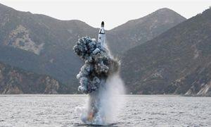 Tên lửa từ tàu ngầm Triều Tiên rơi vào vùng ADIZ Nhật Bản