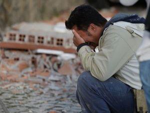 Những hình ảnh đau lòng trong trận động đất ở Italia