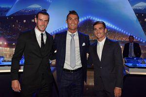 Video Ronaldo nhận giải cầu thủ hay nhất châu Âu