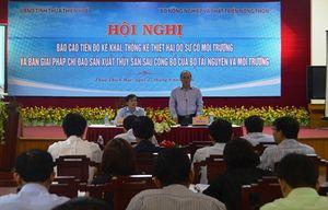 Triển khai giải pháp khôi phục sản xuất thủy sản sau sự cố môi trường biển