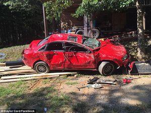 """Cha đập nát xe Audi của cô con gái """"mê trai"""""""