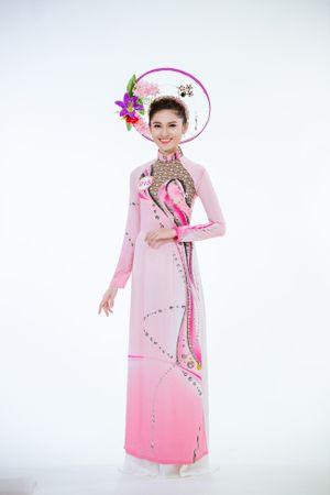 Hé lộ trang phục áo dài top 30 trình diễn tại Chung kết Hoa hậu Việt Nam 2016