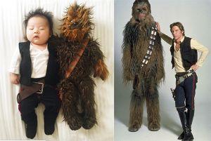 Bé gái 4 tháng tuổi nổi tiếng vì đóng giả nhân vật phim lúc ngủ