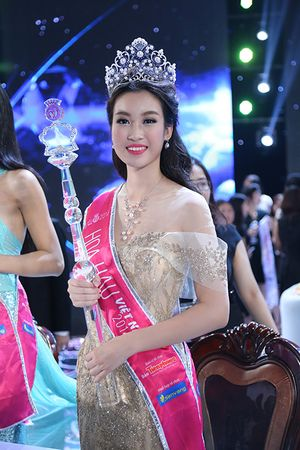 Chân dung tân hoa hậu Việt Nam Đỗ Mỹ Linh