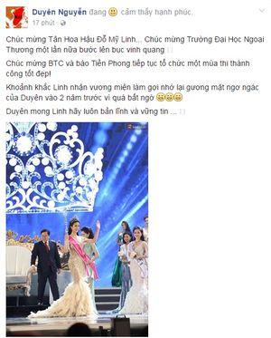 Kỳ Duyên không quan tâm khi bị đối xử tệ, vẫn chúc mừng Tân Hoa hậu Việt Nam