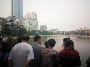 Thanh niên chết đuối vì nhảy xuống hồ Ngọc Khánh tắm