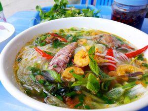 Bún tôm Nhà Thờ, món ngon bình dân ở Cẩm Phả (Quảng Ninh)
