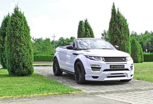 Hamann tung bản độ Range Rover Evoque Convertible