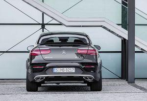 Tân binh Mercedes-AMG GLC 43 4Matic Coupe sắp ra mắt toàn cầu