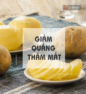 Lý do bạn nên dùng 1 lát khoai tây massage mặt và cơ thể mỗi ngày