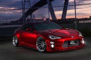 """Toyota 86 độ widebody, sơn nghệ thuật """"siêu đỉnh"""" từ Nhật"""