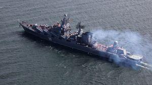 Tàu chiến Nga phóng tên lửa trên biển Barent