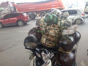 Hà Nội: Mạnh tay với xe chở hàng cồng kềnh