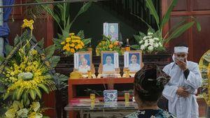 Quặn lòng lễ tang 4 bà cháu bị thảm sát ở Quảng Ninh