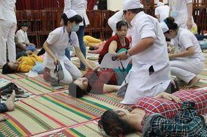 Nam Định: Gần 50 người nhập viện sau khi ăn cỗ cưới ở huyện Vụ Bản