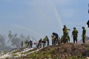 Hơn 1.600 cảnh sát cơ động diễn tập cứu nguy vỡ đập Trị An