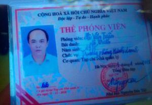 Tự xưng phóng viên 'gây sự' trước cổng Ủy ban tỉnh Thanh Hóa