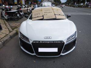 Cận cảnh Audi R8 V8 độ 'khủng' rao bán 3,5 tỷ Đồng tại Việt Nam