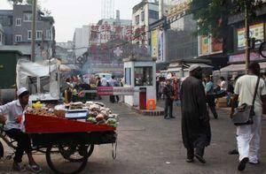 Chùm ảnh dân châu Phi ở Quảng Châu Trung Quốc