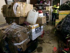 TP.HCM: Hàng nghìn xe máy chìm nghỉm trong hầm gửi xe
