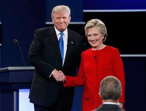Trực tiếp tranh luận Clinton và Trump: Trump thắng thế trên Twitter