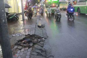 Điểm ngập nổi tiếng nhất Sài Gòn lại 'thất thủ' trước trận mưa lớn thứ 2 trong năm