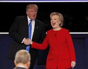 Tranh luận đầu tiên giữa Hilary - Trump: Kẻ tám lạng người nữa cân