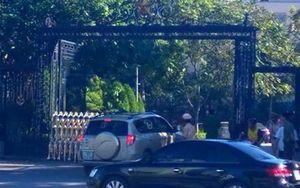 Phạt 'nhà báo' đâm vào cổng UBND tỉnh Thanh Hóa 17 triệu đồng
