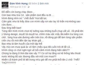 Biệt thự Mr Đàm ngập, Quang Lê ''trải nghiệm'' trời mưa