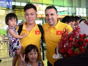 Tuyển thủ futsal Việt Nam hụt hẫng vì HLV Bruno chia tay