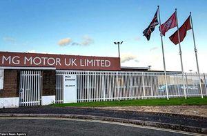 Bên trong nhà máy ô tô bỏ hoang 10 năm ở Anh