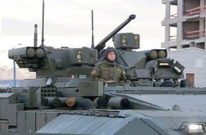 Chuyện thật như đùa: Xe bọc thép Nga được trang bị hộp đen