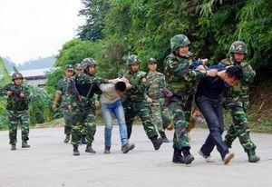 Diễn tập chống khủng bố 'Sông Hồng 2-2016'