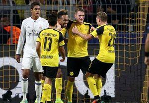 Ronaldo ghi bàn, Real chia điểm với Dortmund