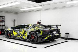 Lamborghini Aventador SV bản độ đẹp khác thường kiểu nhà binh