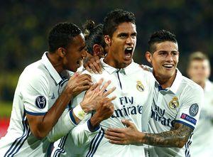 Dortmund 1-2 Real Madrid (H2): Varane chuộc lỗi