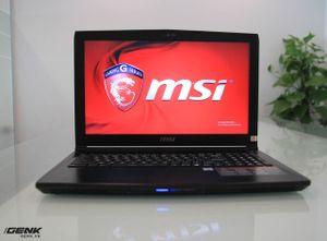 Đánh giá MSI GL62: Nhanh, nhỏ và nhẹ, giá dưới 20 triệu đồng