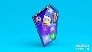 Ý tưởng điện thoại Nokia hình ngũ giác