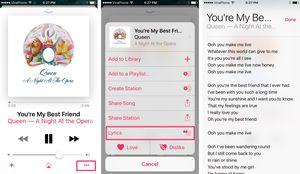 Một số thủ thuật với Apple Music iOS 10: tải nhạc offline, xem lời bài hát, phát hoặc trộn danh sách