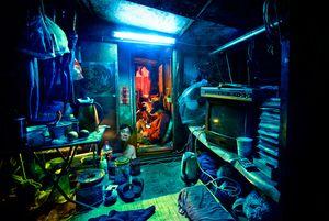 Bàng hoàng trước những ngôi nhà lồng sắt của người dân Hồng Kông