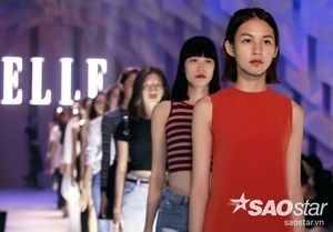 Vắng HLV Hồ Ngọc Hà, Phí Phương Anh The Face vẫn nổi bật trên sàn diễn tổng duyệt Elle Show