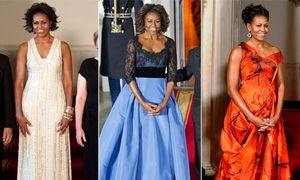 Những bộ váy đẹp nhất của đệ nhất phu nhân Michelle Obama