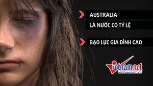Sống ở nước phát triển, phụ nữ Australia vẫn 'bị đánh' như thường