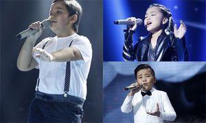 Cân tài top 3 Giọng hát Việt nhí 2016 trước chung kết