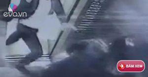 Người phụ nữ bị đánh đập dã man trước mặt con trong thang máy