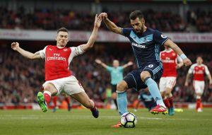 Hòa Middlesbrough, Arsenal gây thất vọng trong ngày sinh nhật HLV Wenger